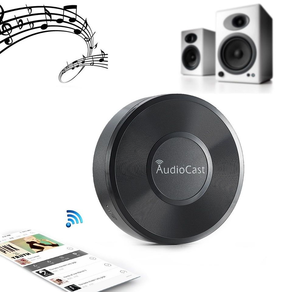 Riversong Audiocast WIFI Audio Receiver Airplay DLNA WiFi