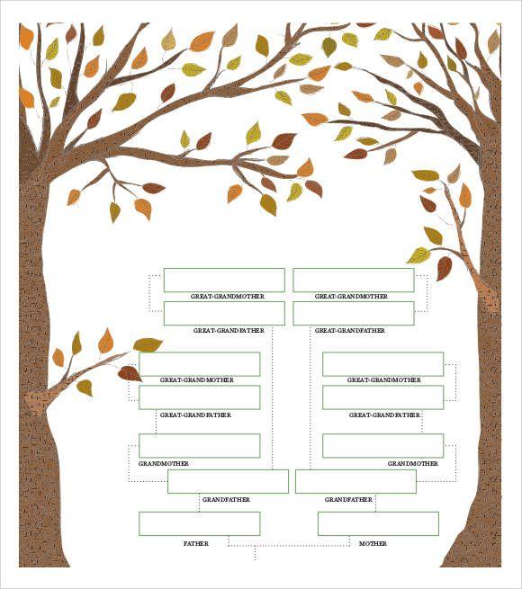 family-tree-chart-example Family tree templates Pinterest - family tree example