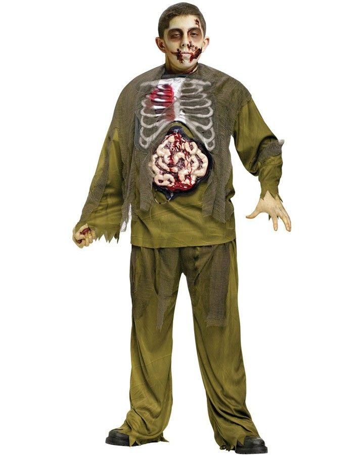Bleeding Zombie Boys Costume Inspir-activity Pinterest - halloween costumes with beards ideas