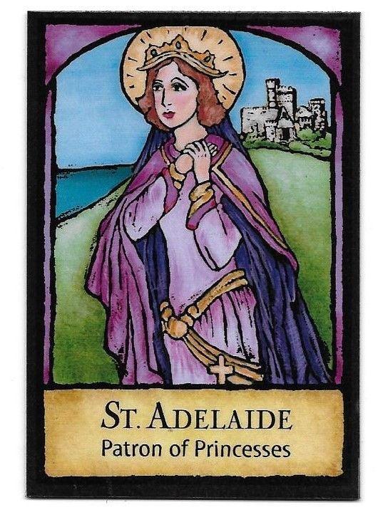 ST. ADELAIDE - PATRON OF PRINCESSES - FRIDGE MAGNET ...