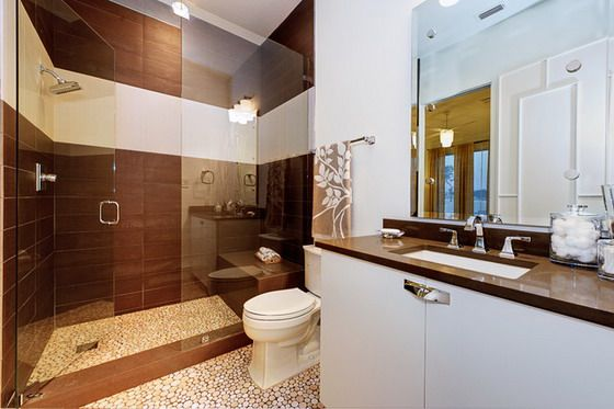 white and brown bathroom decoration ideas - Bathroom Ideas Brown And White