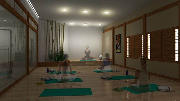 room home yoga room design - Home Yoga Room Design