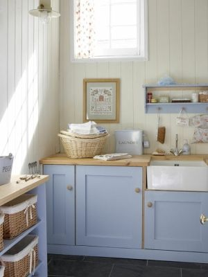 Blue kitchen by Banphrionsa B L O U \u2022 K O T H U I S Pinterest