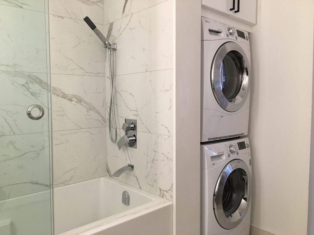 Fantastic Laundry Room Stackable Washer And Dryer Information Is Available On Our Web Pag Laundry In Bathroom Laundry Room Bathroom Washer Dryer Laundry Room