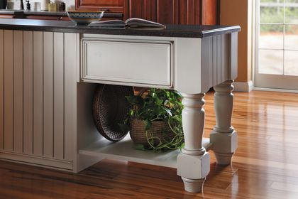 Starmark Cabinetry Base Island Unit Style D Shown With