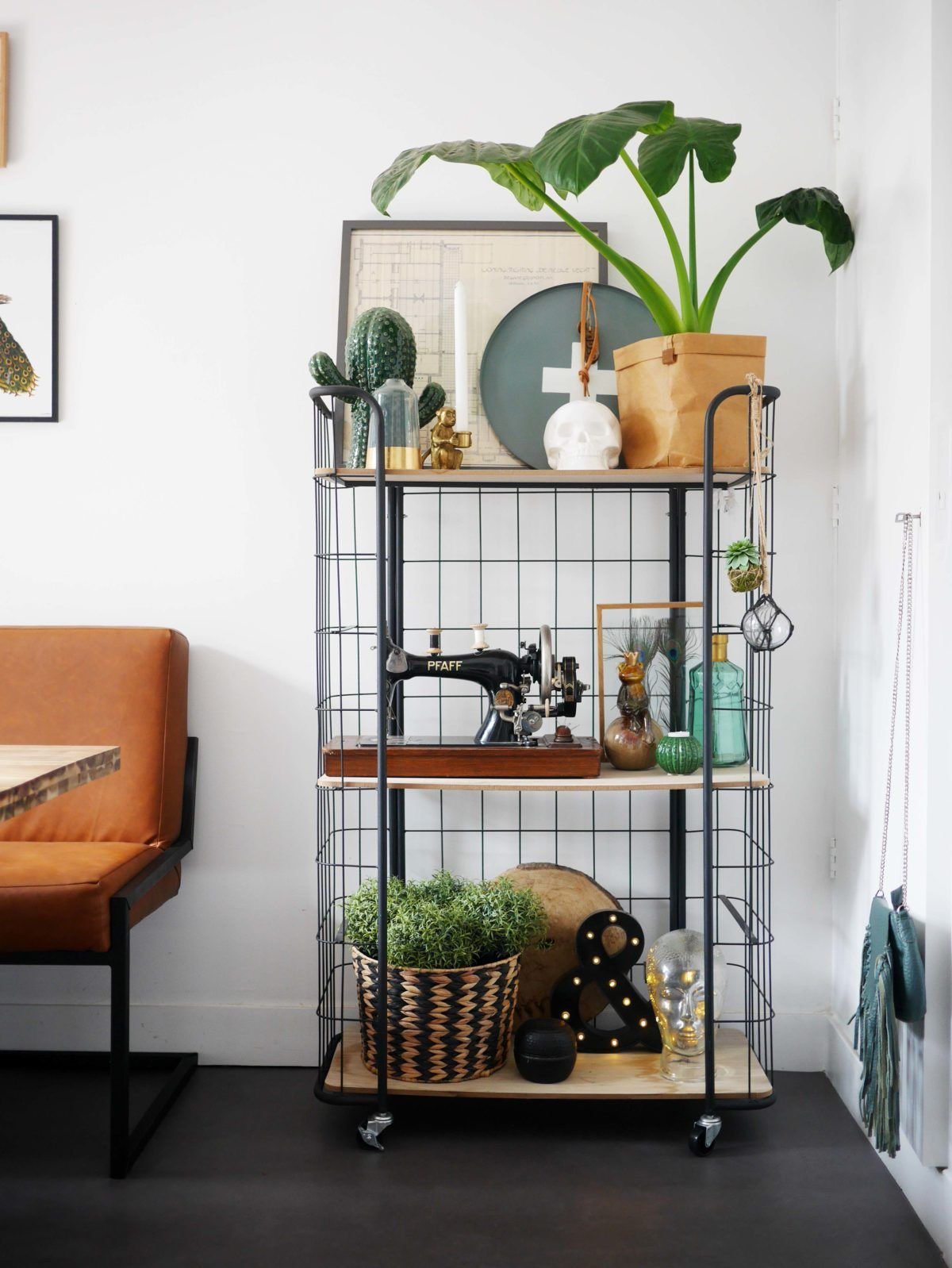 bakkerkast woonkamer keuken inspiratie ideeën decoratie | Cynthia.nl ...