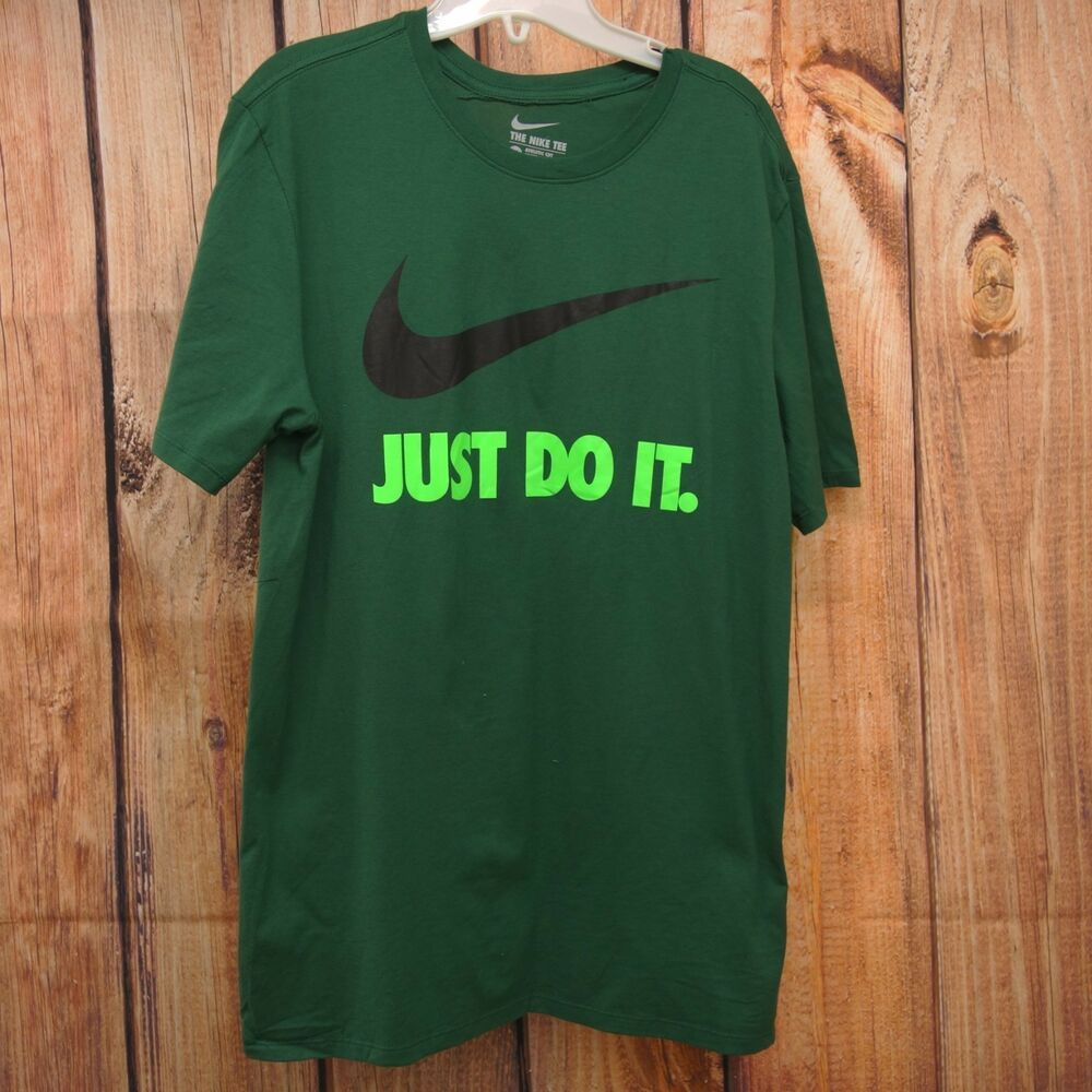 Nike Just Do It T-shirt-officiel nike tee-Homme-Large