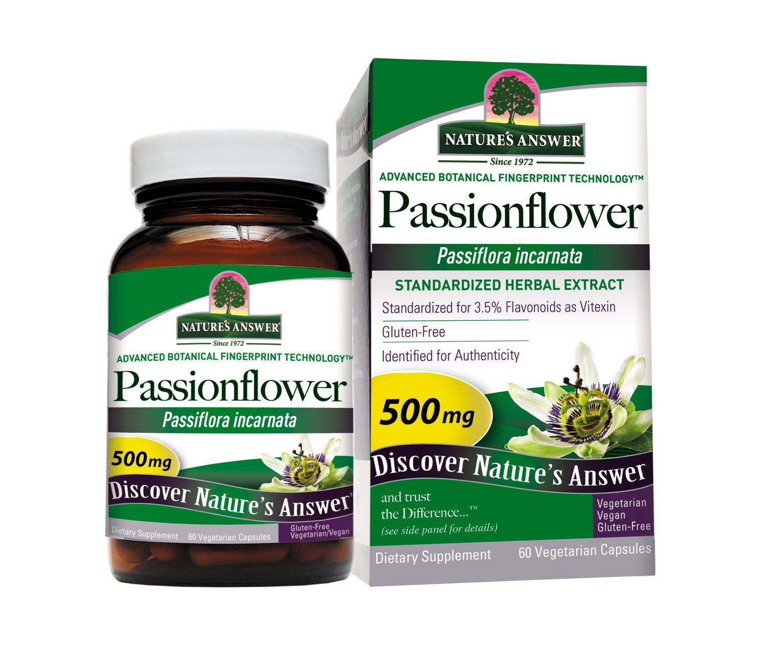 Nature S Answer Passionflower Vegetarian Capsules 60 Count Awesome Product Click The Image Herbal Supp Herbal Supplements Nature Made Vitamins Herbalism