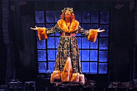 Christmas Carol Meaning.Ghost Of Christmas Present A Christmas Carol Guthrie Theater A