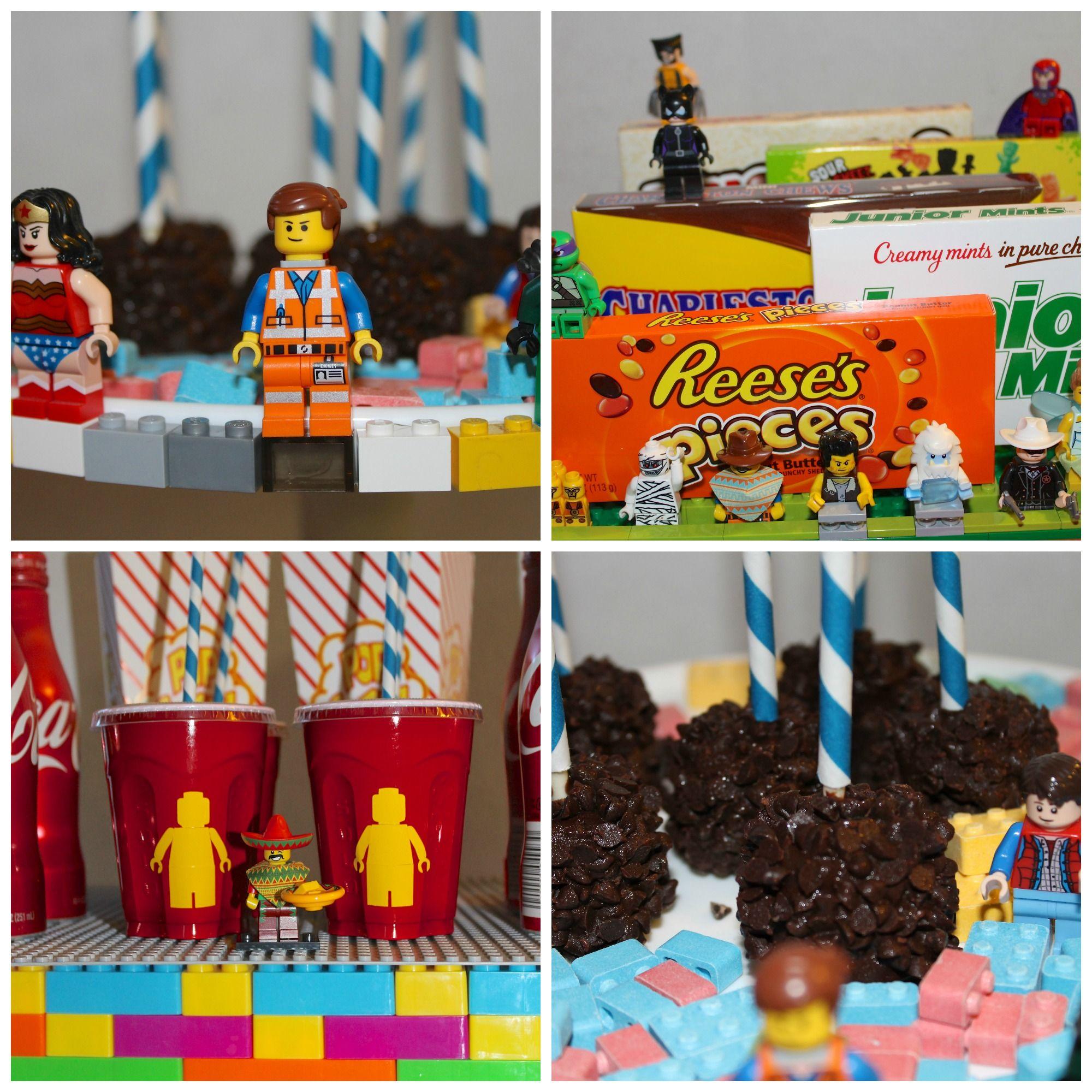 lego party sweet table Recherche Google Projets Pinterest