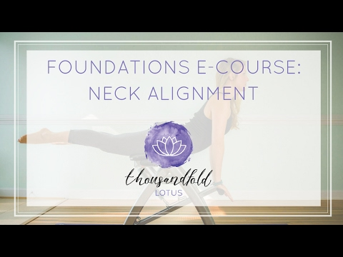 [Pilates Foundations Course] Lesson 5: Neck Alignment - YouTube #pilatescourses