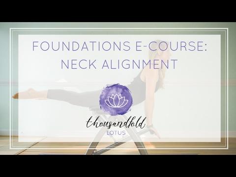 [Pilates Foundations Course] Lesson 5: Neck Alignment - YouTube #pilatescourses