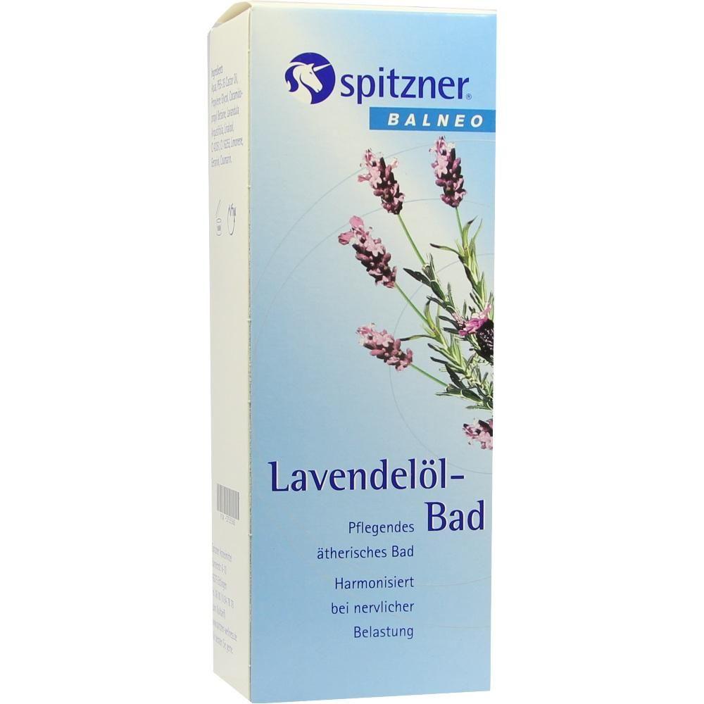 SPITZNER BALNEO Lavendel OElbad:   Packungsinhalt: 190 ml Bad PZN: 03755360 Hersteller: Dr.Willmar Schwabe GmbH & Co.KG Preis: 8,05 EUR…