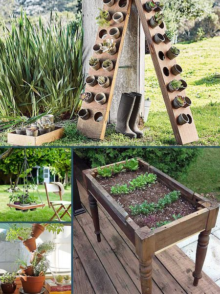 Roundup 10 MORE, Even Smaller Space Container Garden Ideas DIY