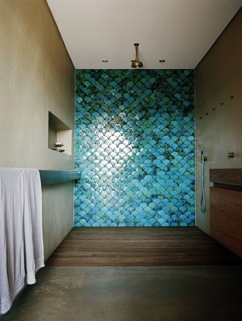 Home Inspiration The Boathouse Home Palm Beach Fish Scale Tile