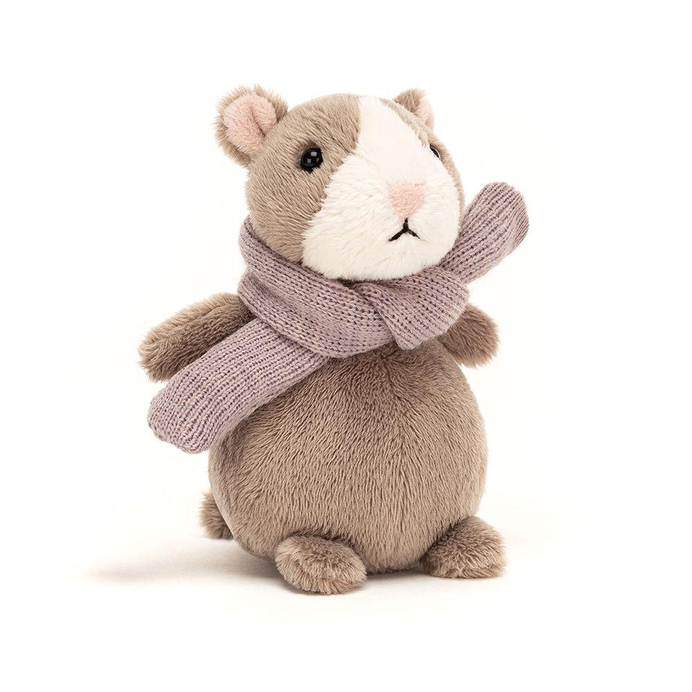 Jellycat Happy Nutmeg Hamster Mini Maison White In 2020 Jellycat Soft Toy Dog Hamster