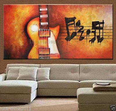 Oil Painting On Canvas Modern Abstract Art DecoMusic Hall No Frame