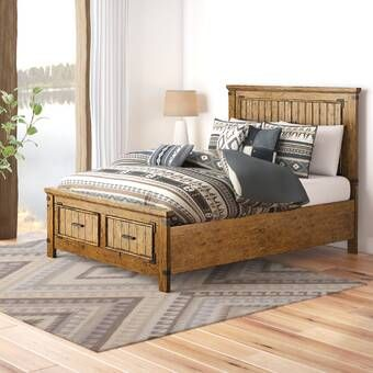 Best Berta Queen Standard Bed Platform Bed Cheap Patio 400 x 300