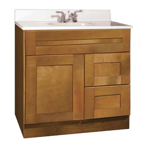 Pace Shenandoah Series 30 X 21 Vanity Brown Bathroom Vanity Vanity Bathroom Update