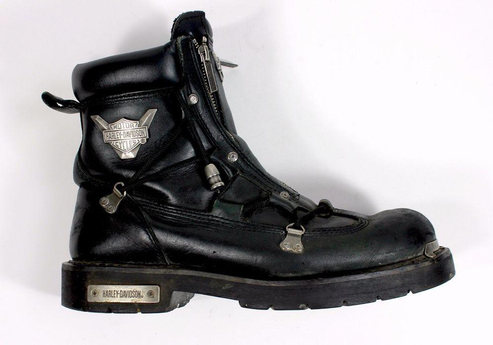 Harley Davidson Motorcycle Mens Brake Light Heavy Boots -3698