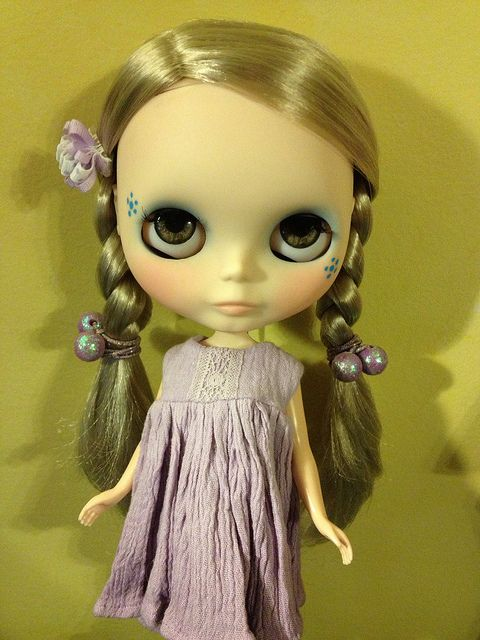 Tuesday Bluebell says hi by tubbysnuggles, via Flickr
