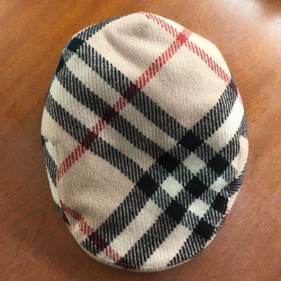 2ca4056a52a Authentic nova check Burberry newsboy hat. Size M GREAT condition.  AUTHENTIC nova check Burberry newsboy cap. Size Medium. Burberry  Accessories Hats