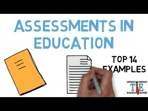 Assessment In Education Top  Examples Of Assessments That