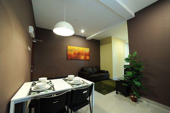 Living Room, 2-Bedroom Junior Suite of The Osborne Apartment in Ipoh, Malaysia -- http://www.theosborne.com.my/room_2_bedroom_apartment.html