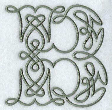 Embroidered Flour Sack Towel/Hand Towel/Quilt Block -Celtic ...