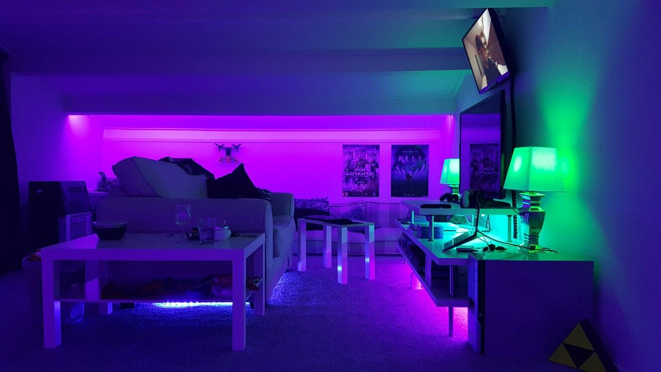 Attic gameroom