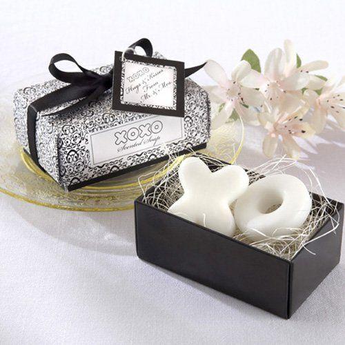 Xo Hugs And Kisses Soap Favors Beau Coup Soap Wedding Favors Elegant Wedding Favors Soap Favors