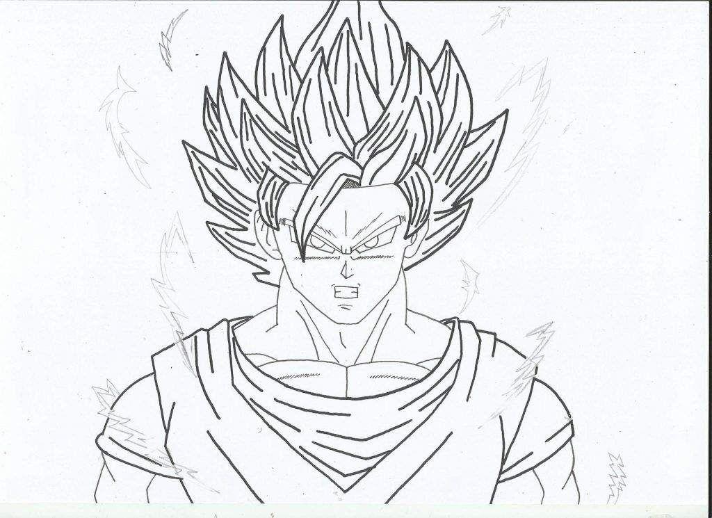 Como Dibujar A Goku Ssj2 Arte Amino Amino Como Dibujar A Goku Dibujo De Goku Como Dibujar