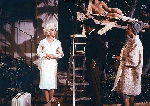 Marilyn Monroe in Something's got to give with Dean Martin - Buscar con Google