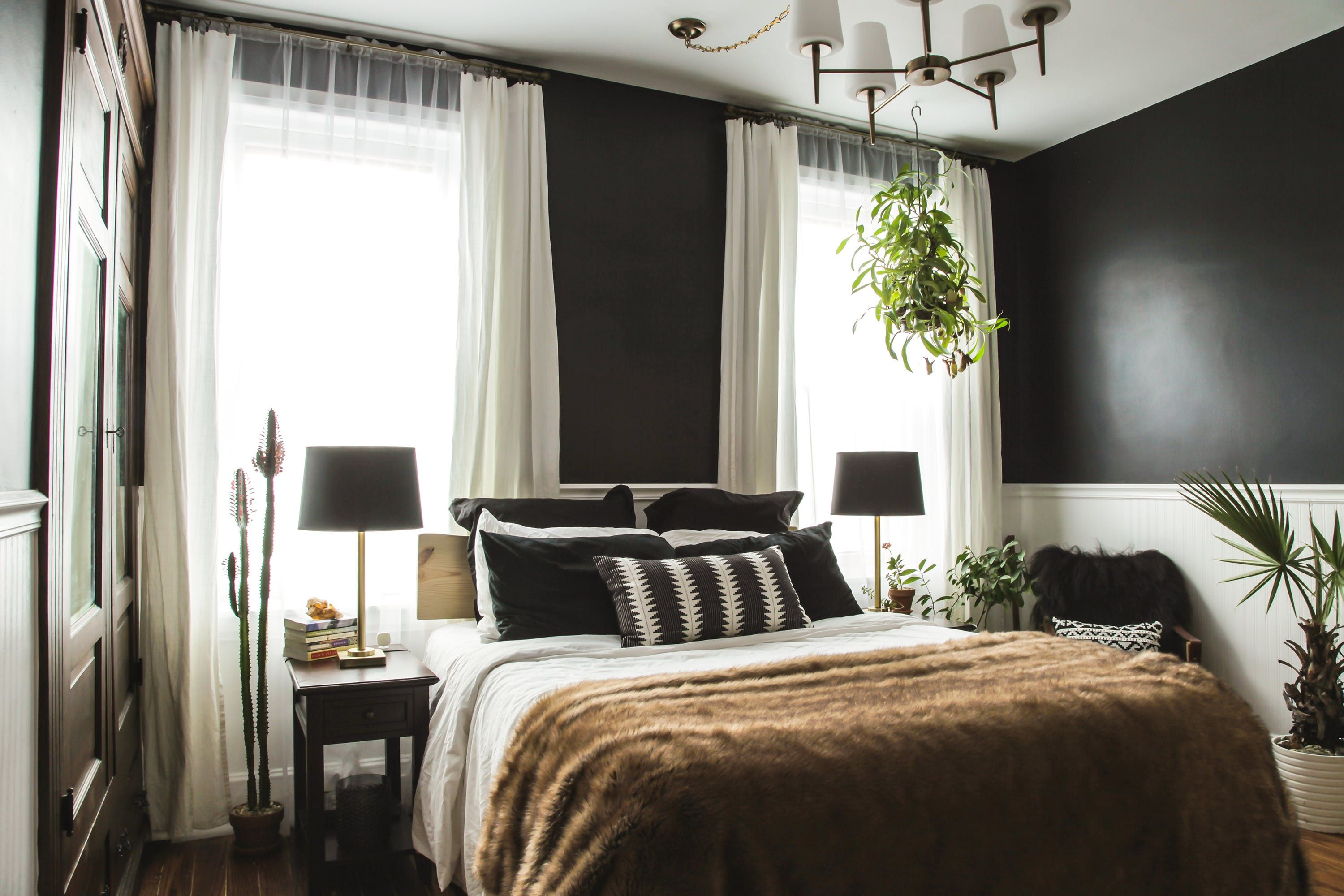 magnificent bedroom furniture stores near me. Bed Linens, Window Covers, Bedside Tables And Lamps // Before \u0026 After: A \ Magnificent Bedroom Furniture Stores Near Me