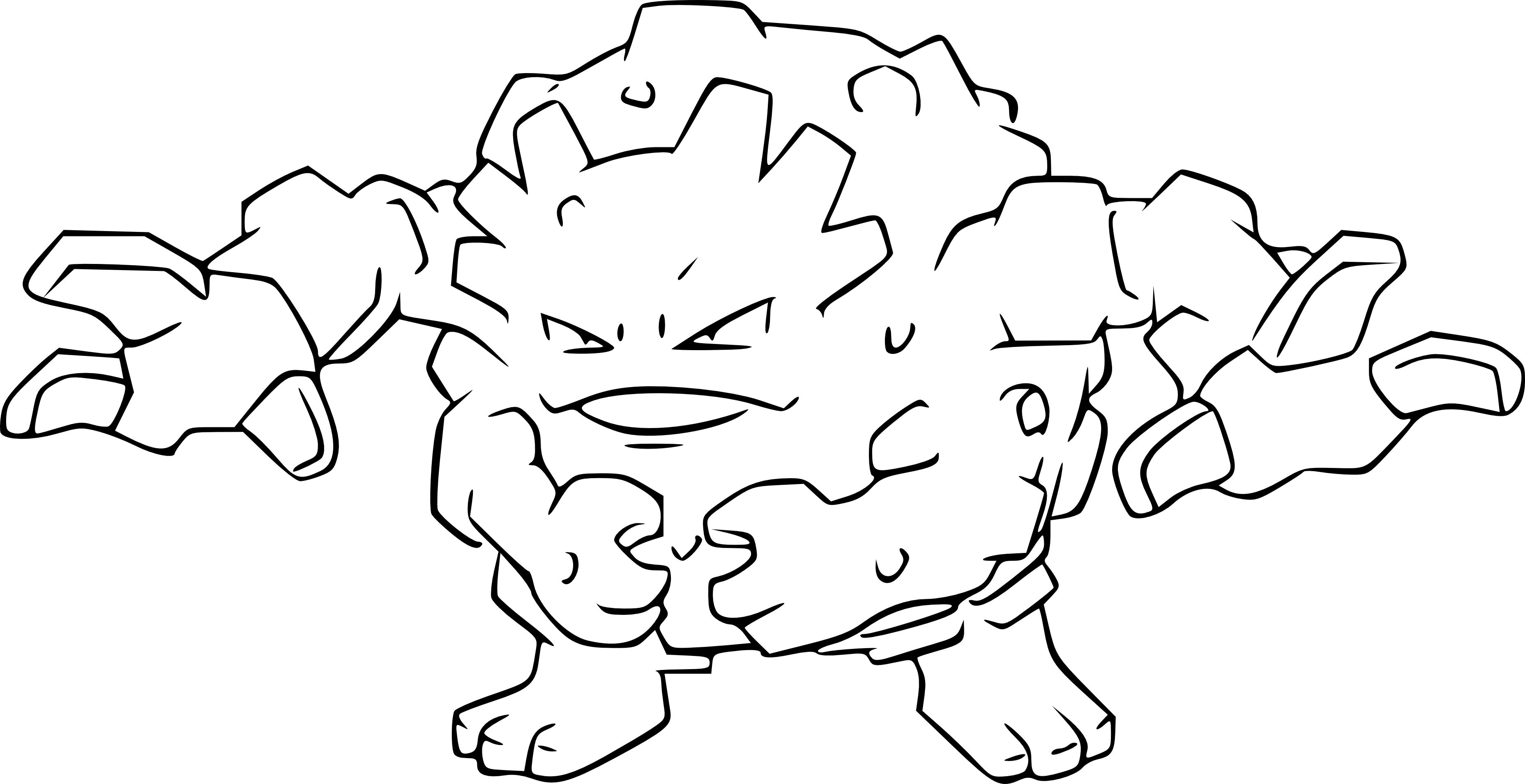 Graveler Buscar Con Google Coloring Pages Free Printable Coloring Pages Printable Coloring Pages