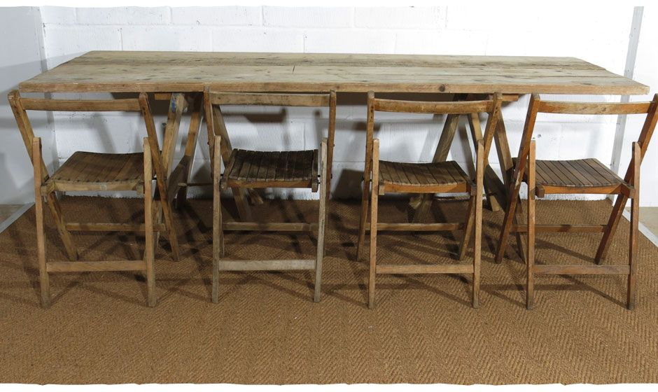 Rustic Worn Wooden Tables. Dining Table. Food, Drinks, Cake, Display Table.  These Vintage Tables Can Be Hired For Weddings And Events. | Pinterest |  Trestle ...