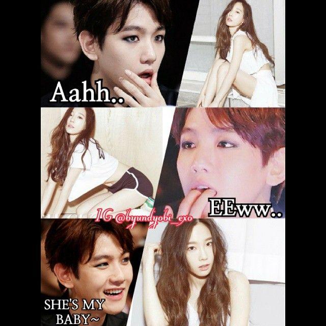 Is exo baekhyun still dating snsd taeyeon