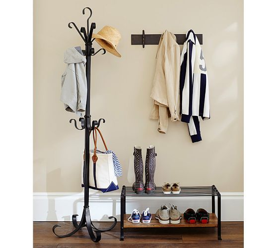 Pottery Barn Blacksmith Shoe Rack Absolutely Love This