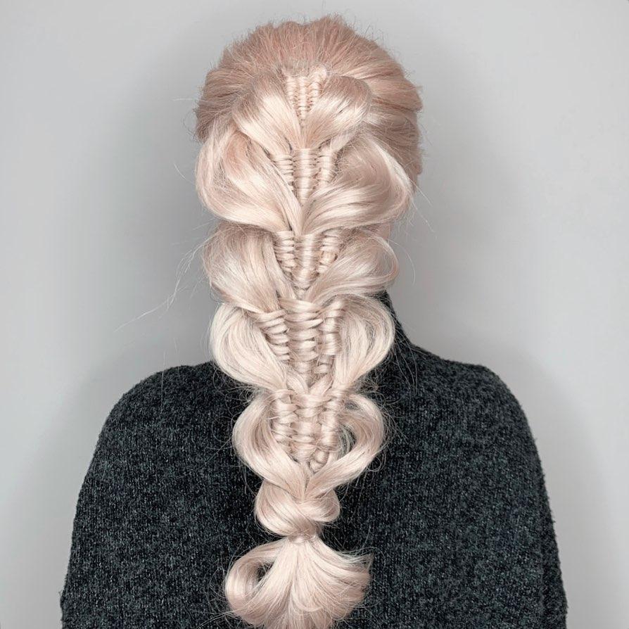 Infinitybraid Hashtag On Instagram Photos And Videos In 2020 Baddie Hairstyles Infinity Braid Braids