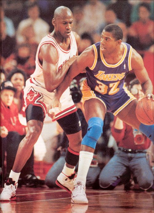 MJ wearing air jordan 5 firered