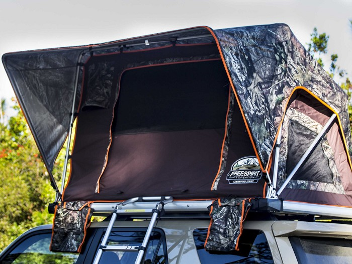Freespirit Recreation M49 Adventure Series Mossy Oak Rooftop Tent 1 2 Person M49adv Mo Roof Top Tent Tent Rooftop