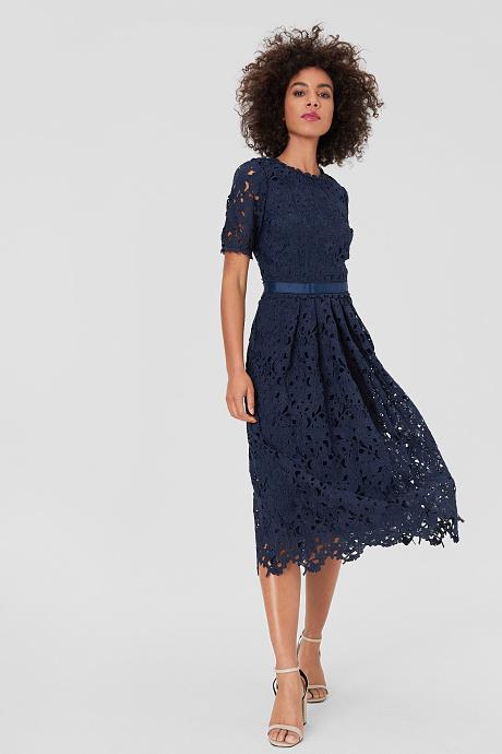 Sukienka Fit Flare W Uroczystym Stylu C A Fit Flare Dress Flare Dress Dresses