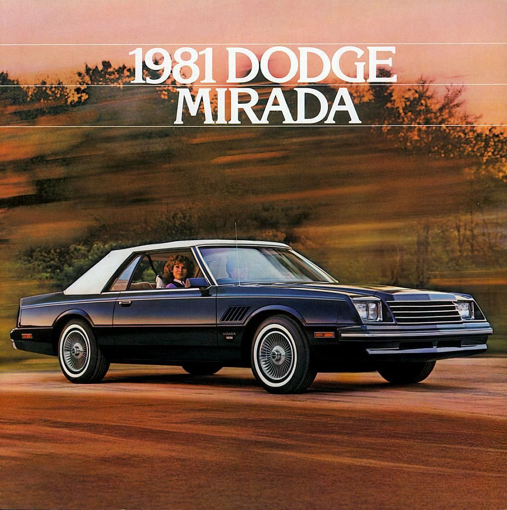 1981 Dodge Mirada – Old Car Brochure