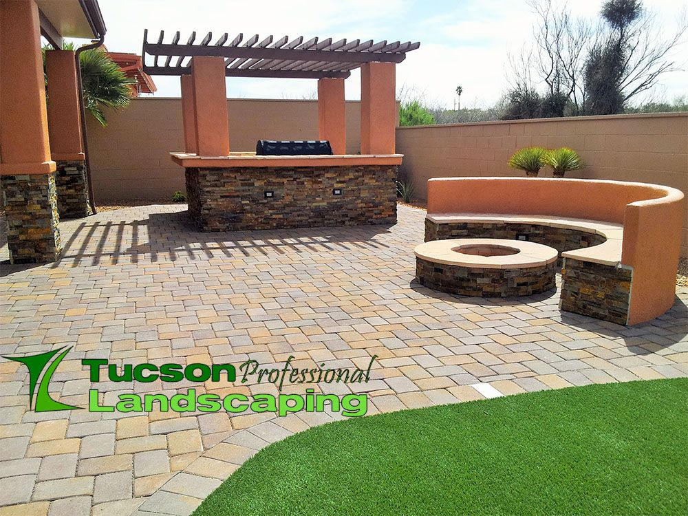 Fire Pit Tucson Professional Landscaping Professional