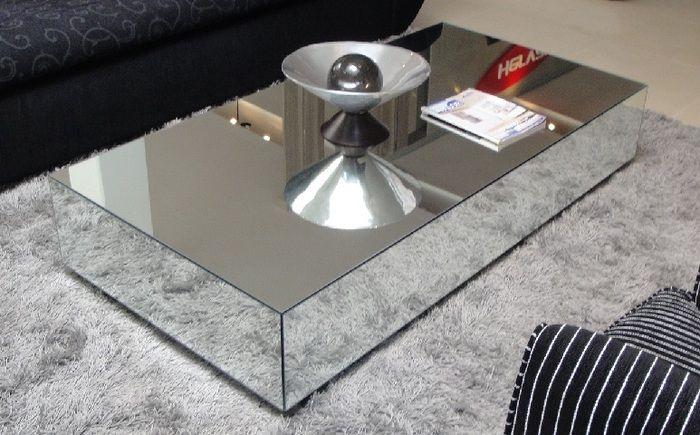 Miami And Aventura Contemporary And Modern Furniture 2462 Mh Mirrored Coffee Table Decoracion De Interiores Decoracion De Unas Interiores