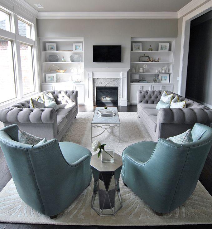 coolGray #GrayInterior http://www.houseofturquoise.com/2015/12 ...