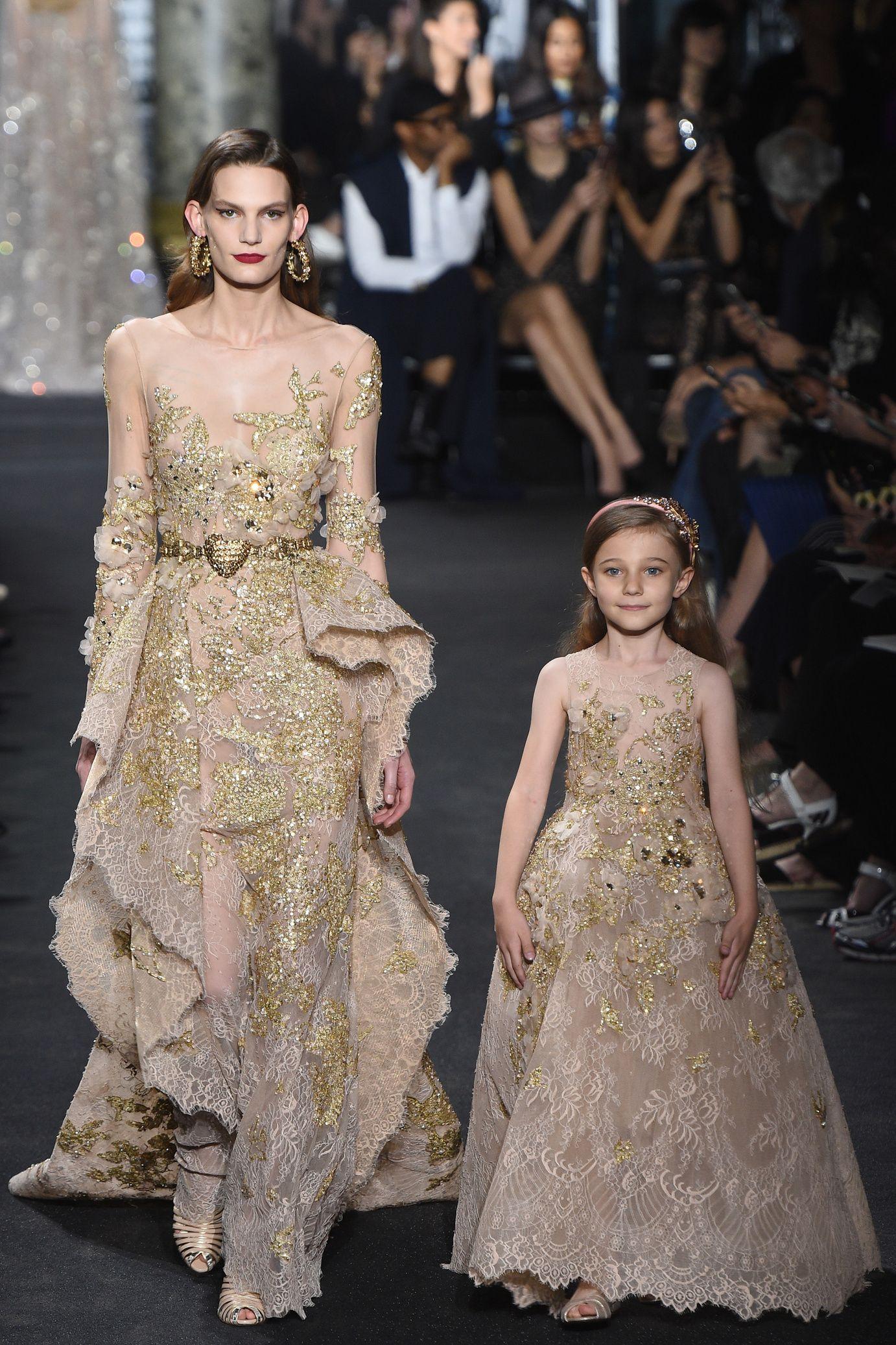 Défilé Elie Saab Haute Couture automne-hiver 2016-2017 16                                                                                                                                                      More
