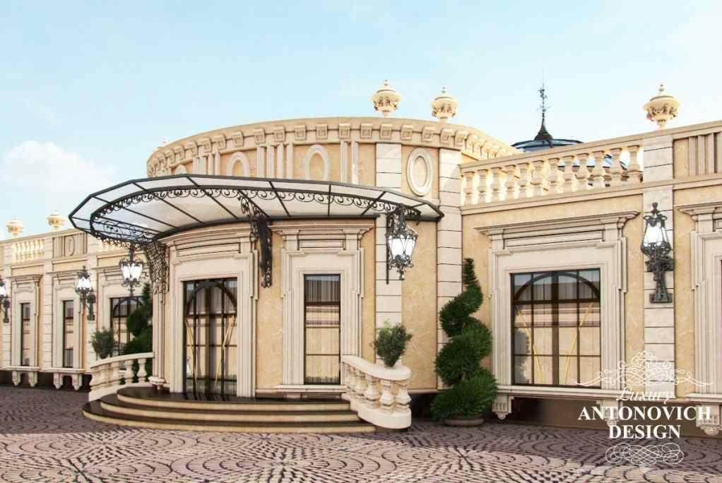 Luxury Villa Exterior by Antonovich Design Luxury
