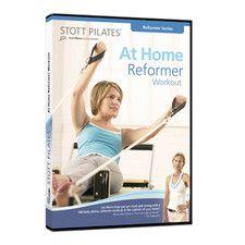 STOTT PILATES At Home Reformer Workout DVD Shop