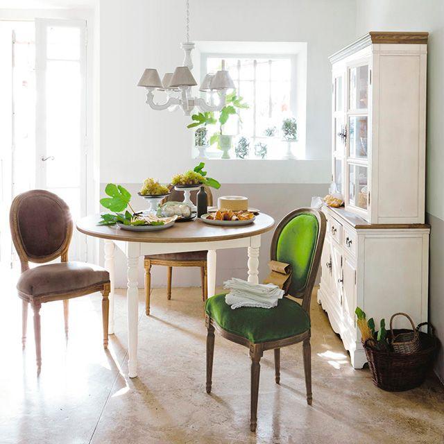 dining - green / vert - salle à manger Pièces à vivre / Living